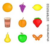drink admiration icons set.... | Shutterstock .eps vector #1078950533