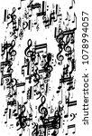 musical notes on white... | Shutterstock .eps vector #1078994057