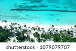 aerial of wonderful tropical... | Shutterstock . vector #1079079707