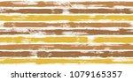 trendy watercolor brush stripes ... | Shutterstock .eps vector #1079165357