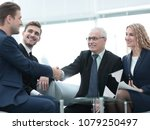 partners concluding deal and...   Shutterstock . vector #1079250497