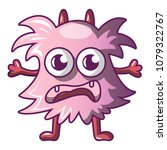 monster icon. cartoon... | Shutterstock .eps vector #1079322767