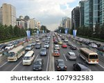Beijing   July 12  Traffic Jam...