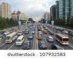 Beijing   July 12  Traffic Jam...