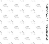 barbecue brush pattern vector...   Shutterstock .eps vector #1079330393