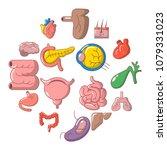 internal human organs icons set.... | Shutterstock .eps vector #1079331023