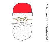merry christmas santa claus... | Shutterstock .eps vector #1079402477