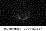 tunnel or wormhole. abstract... | Shutterstock .eps vector #1079461817