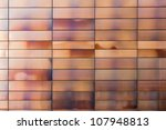 metal panels of modern building ... | Shutterstock . vector #107948813