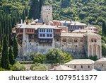 mount athos docheiariou... | Shutterstock . vector #1079511377