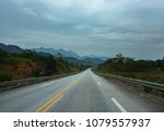 street view of new highway from ... | Shutterstock . vector #1079557937