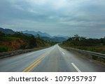 street view of new highway from ... | Shutterstock . vector #1079557937