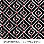 geometric ethnic oriental...   Shutterstock .eps vector #1079691443