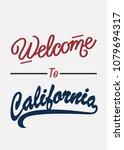 typography slogan welcome to...   Shutterstock .eps vector #1079694317