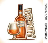 vector illustration of alcohol... | Shutterstock .eps vector #1079784023