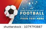 football abstract design... | Shutterstock .eps vector #1079793887