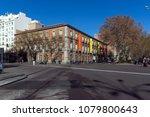 madrid  spain   january 22 ... | Shutterstock . vector #1079800643