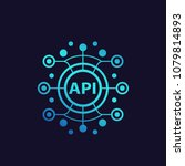 api  application programming... | Shutterstock .eps vector #1079814893