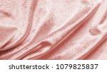 rose gold pink velvet... | Shutterstock . vector #1079825837