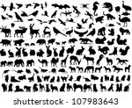animals | Shutterstock .eps vector #107983643