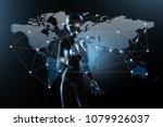 ai  artificial intelligence... | Shutterstock . vector #1079926037