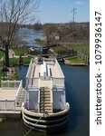 Small photo of Over looking the historic I & M Canal on a Spring afternoon. LaSalle, Illinois, USA