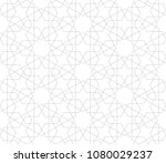 abstract geometric pattern with ... | Shutterstock .eps vector #1080029237