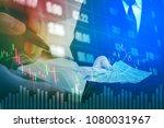 businessman holding money us...   Shutterstock . vector #1080031967