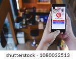 chiang mai  thailand   april 21 ... | Shutterstock . vector #1080032513