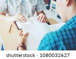 high school or college students ...   Shutterstock . vector #1080032627