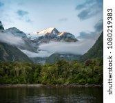 mountain and rainforest after... | Shutterstock . vector #1080219383