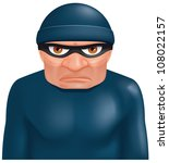 thief   eps 10 includes... | Shutterstock .eps vector #108022157