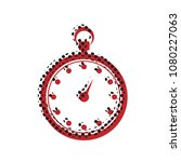 stopwatch sign illustration.... | Shutterstock .eps vector #1080227063