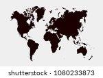 world map vector | Shutterstock .eps vector #1080233873