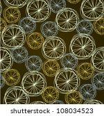 abstract swirl seamless  summer ... | Shutterstock .eps vector #108034523