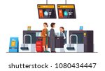 passengers   airline company... | Shutterstock .eps vector #1080434447