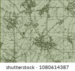 abstract geographical map.... | Shutterstock . vector #1080614387