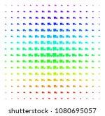 shipment van icon spectral... | Shutterstock .eps vector #1080695057