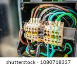 electrical power cable and... | Shutterstock . vector #1080718337