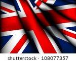 england uk flag eps10 | Shutterstock .eps vector #108077357