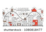 coffee concept illustration....