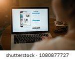 chiang mai  thailand   may 01 ... | Shutterstock . vector #1080877727