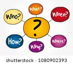 question mark   questions whose ... | Shutterstock .eps vector #1080902393