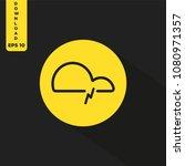 weather vector icon | Shutterstock .eps vector #1080971357
