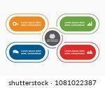 infographic template. vector...   Shutterstock .eps vector #1081022387