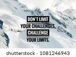 motivational and inspirational... | Shutterstock . vector #1081246943
