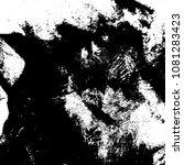 grunge mess blot background.... | Shutterstock .eps vector #1081283423