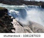 niagara falls canada | Shutterstock . vector #1081287023