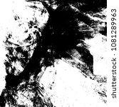 grunge mess blot background.... | Shutterstock .eps vector #1081289963