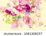 summer  floral  artistic...   Shutterstock . vector #1081308257